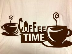 Coffee decor sign, kitchen sign, cafe sign, cnc plasma cut by MetalArtDesignz on Etsy https://www.etsy.com/listing/208541571/coffee-decor-sign-kitchen-sign-cafe-sign
