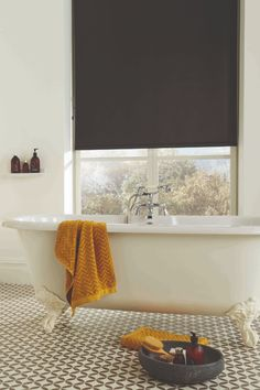 Black is the perfect accent to any room. Small touches create visual interest and drama, and blinds are the perfect way to decorate with black without overpowering your interiors.   #windowblinds #home #homeinspo #homedecor #homesweethome #interiorstyle #interiordesign #meblinds #rollerblinds #livingroomdecor #officedecor #bathroominspo #homeofficeideas #contemporary #black #bold Black Blinds, Black Curtains, Living Room Decor, Living Spaces, Blinds Online, Interior Styling, Interior Design, Window Styles, Roller Blinds