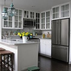 Beadboard Kitchen Island, Transitional, kitchen, Grace Happens