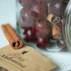 Vánoční griotka   Koření od Antonína Korn, Cinnamon Sticks, Spices, Wine, Liquor