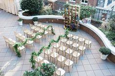 Rooftop wedding ceremony venue at Andaz Savannah