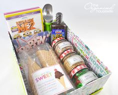 ORGANISED CHRISTMAS 2013 – DAY 24 » The Organised Housewife: Cleaning Task – Clean Kitchen; Organisation – cook for freezer plus plan Christmas Day guest list; Recipe – Chocolate Peppermint Crinkle Cookies; Craft – Ice Cream Movie Gift Pack; Christmas Gift Guide – Kids Bamboo Utensil Set.
