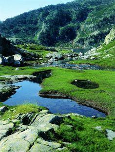 Llac de Romedo (Joan Tous) Pallars Sobirà Lleida Spain