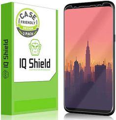 IQShield Galaxy S8 Plus Screen Protector
