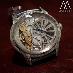 This beautiful ladies Audemars Piguet Millenary has cheered me up this afternoon.  Set in 18ct White gold with diamonds.