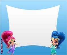 Shimmer Y Shine, Disney Characters, Fictional Characters, Disney Princess, Cards, Costumes, Fiesta Invitations, Free Printable, Stencils