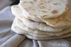 Soft and Pillowey Homemade Pita Bread Recipe (great food storage recipe). http://www.yourownhomestore.com/homemade-pita-bread/