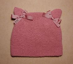 Web Server's Default Page Einfaches - Diy Crafts - hadido Baby Hat Knitting Pattern, Baby Hats Knitting, Knitting For Kids, Easy Knitting, Knitted Hats, Knitting Patterns, Love Crochet, Crochet Baby, Knit Crochet