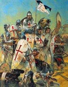 Medieval Knight, Medieval Armor, Medieval Fantasy, Crusader Knight, Knight Armor, High Middle Ages, Armadura Medieval, Knights Templar, Military Art