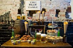 Little Big Company | The Blog: Masculine Tables - Male party inspiration!