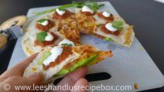 Leesh & Lu's Recipe Box: Bacon Avocado Quesadillas