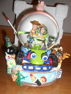 Disney Snowglobe TOY Story IN BOX 1 With Tags | eBay