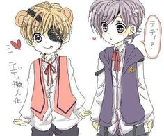 Human Teddy & Young Kanato<<< oh my god I'm gonna die