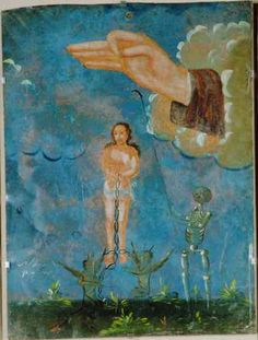retablo from University of New Mexico collection