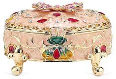 Enamel Butterfly Box on OneKingsLane.com