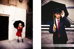 Singing in the Rain Inspired Engagement Photography