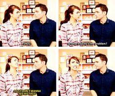 """""""Real mature, Emma."""" - This is how I feel sometimes at work..."""