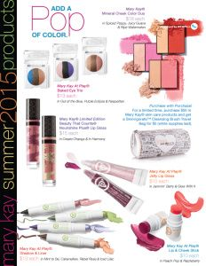 Add a pop of color! visit www.marykay.com/dfeldotto to order your favorites! Free shipping and Free gift with any $50 purchase!