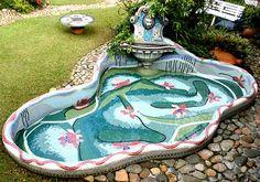 Fonte em Mosaico