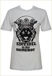 """""""Sir Fidel Is My Homeboy"""" Tee - Phi Mu Carnation Collection"""