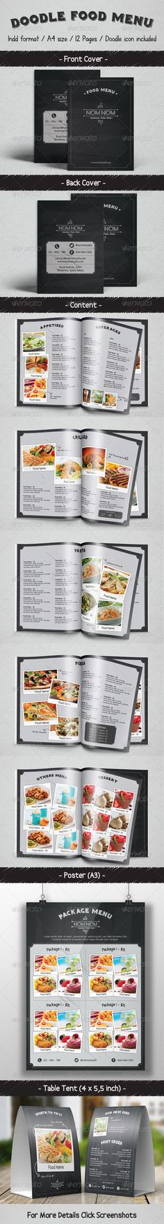 Restaurant Menu Restaurant menu template, Menu templates and Menu - food menu template