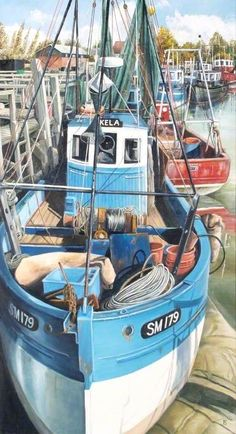 Fishing Boats, Rye, East Sussex