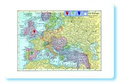This group of interactive whiteboard resources utilizes a number of maps that have passed into the public domain due to their age.