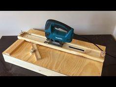Ah! E se falando em madeira...: Building a Jigsaw Cutting Station - Dekupaj Testere Kesim Tezgahı