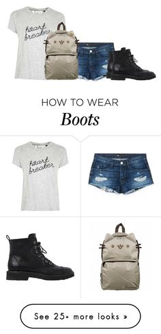 """""""Untitled #1735"""" by cardigurl on Polyvore featuring 3x1, Giuseppe Zanotti, Tee and Cake, Pusheen and Judith Leiber"""