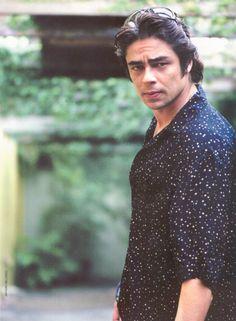 Benicio Del Toro Benecio Del Toro, Romantic Men, I Have A Crush, Beautiful Gorgeous, Celebs, Celebrities, My People, Best Actor, Brad Pitt