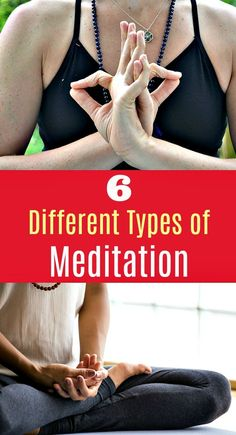 """6 Different Types of Meditation - Many people have a hard type separating the idea of meditation from the mental image of sitting cross legged on a yoga mat, chanting """"ohm"""" and trying to clear your mind to a blank state. This can be an effective form of Meditation For Anxiety, Meditation For Beginners, Meditation Benefits, Healing Meditation, Meditation Techniques, Meditation Music, Guided Meditation, Meditation Quotes, Chakra Healing"""