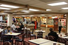 The Memorial Union Cafeteria, Indiana University