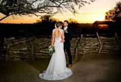 J Bride wearing Wtoo by Watters Julienne wedding gown/ Photo by Something Blue Photography / Desert + Barn wedding/ Tanque Verde Guest Ranch Wedding