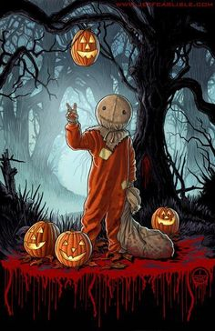 Every day is Halloween — by Jeff Carlisle