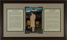 "Vince Lombardi unsigned Green Bay Packers ""What it takes to be #1"" Motivational Speech Framed 33x21 by Athlon Sports Collectibles. $175.00. This is a Vince Lombardi ""What it takes to be #1"" Framed Motivational Speeches with Quality Framing as shown with descriptive plaque to an overall size of 33x21. This Features two of the best know speeches in football history, including ""What it takes to be number one"". Vincent Thomas Lombardi (June 11, 1913 - September 3, 1970) widely though..."