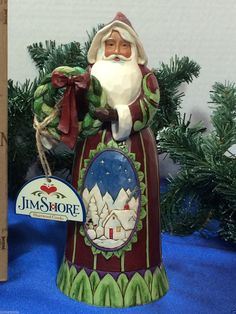 "JIM SHORE SANTA ""Welcome Home the Spirit of Christmas"" NEW RELEASE 2015"