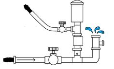 Basic diagram of how a swimming pool plumbing system works