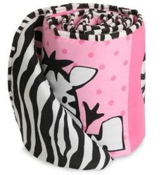 Zebra Crib Bedding for Girls | Baby Boom I Luv Zebra Crib Bedding | Baby Bedding and Accessories