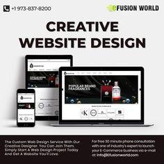 Website Design Services, Website Designs, Custom Web Design, Web Design Projects, E Commerce Business, Responsive Web Design, Ecommerce, Creative Design, Product Launch