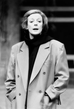 Maggie Smith as Halina - Coming in to Land (1987)