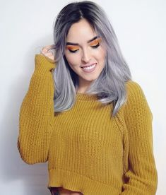 Casual Fall Outfits, Your Photos, Hair Color, Make Up, Poses, Crop Tops, Hair Styles, Womens Fashion, Pretty