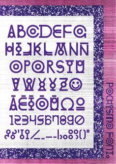 Pochismo Font - Velckro Artwork