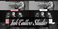 Ink Tattoo Studio - One Page Portfolio Template by miciana1417 DescriptionInk Tattoo Studiois amodern and uniquepsd template.It contains 2 PSD files which have been well organized.All colors c