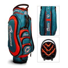 Miami Dolphins NFL Cart Bag - 14 way Medalist