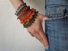 Art Crochet Jewelry crochet