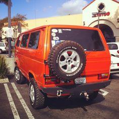 Seth Hatfield's amazing Syncro. Bus Camper, Vw Bus, T3 Vw, Volkswagen, Vw Syncro, Vw Classic, Cool Campers, Van Life, Motorhome