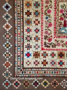 """Phebe quilt, from Di Ford's book, """"Primarily Quilts"""""""
