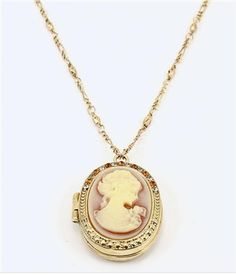 $25 MASSIVE SALE ending soon. SAVE 30% use code 'SAVE30' at checkout!Cameo Locket Necklace - 20 inch