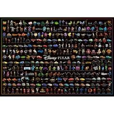 Find many great new & used options and get the best deals for New 1000 Piece Jigsaw Puzzle Disney / Pixar Character Collection (51 x 73.5 cm) at the best online prices at eBay! Free shipping for many products! Jigsaw Saw, 1000 Piece Jigsaw Puzzles, Maps For Kids, Pixar Characters, Classic Movie Posters, Toys Shop, Disney Pixar, How To Apply, Good Things