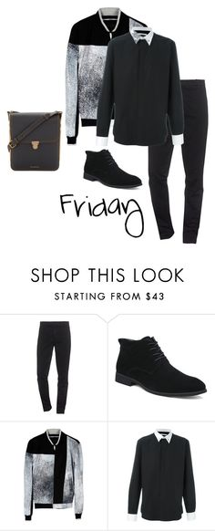 """""""Friday"""" by kay-m ❤ liked on Polyvore featuring Kenzo, Givenchy, Burberry, men's fashion and menswear"""